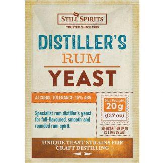 SS rum distillers yeast