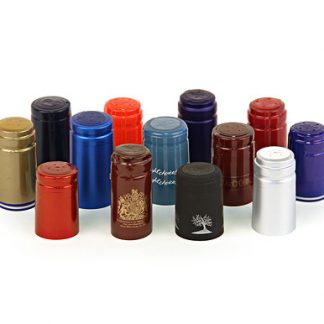 Shrinkable Plastic capsules