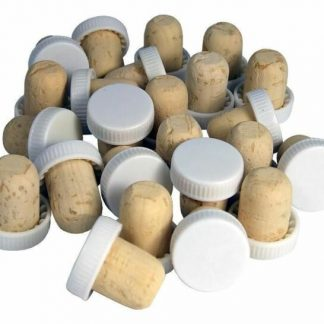plastic topped corks