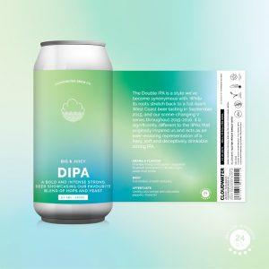 Cloudwater Brew Co DIPA 8.0% 440ml Can