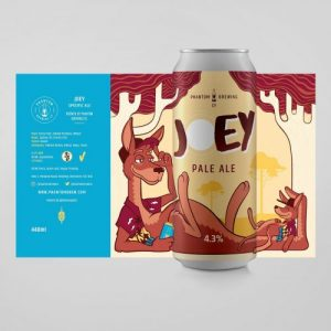 Phantom Brewing Co Joey 4.3% 440ml Can |