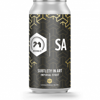 71 Brewing Subtlety In Art Cans 12% 440 ml