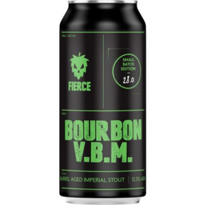 FIERCE BEER Bourbon BA V.B.M 12.5% 440ml Can
