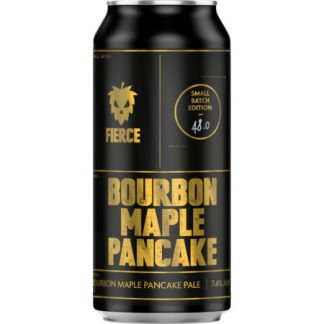 FIERCE BEER Bourbon Maple Pancake 7.4% 440ml Can