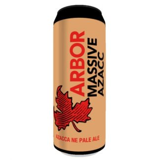 Arbor Ales MASSIVE AZACC 5.4% 568ml can