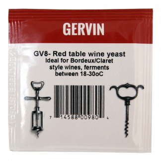 Gervin GV8 Red wine yeast