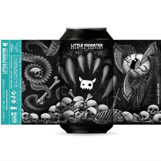 Little Monster Brewing Co Alien Ink – Black IPA 6.2% 440ml can