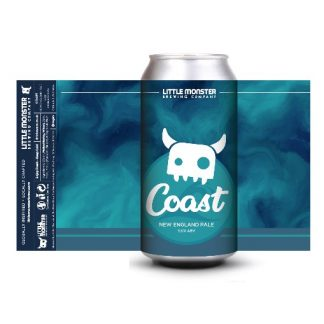 Little Monster Brewing Co Coast New England Pale Ale ABV 5.6%
