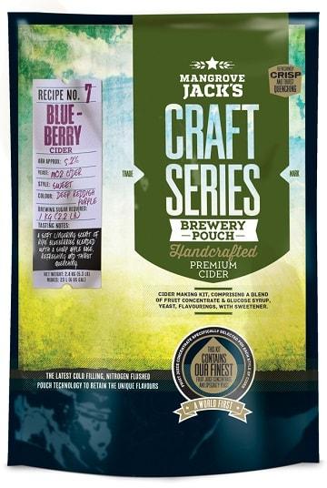 Mangrove Jacks Blueberry Cider Kit 23l