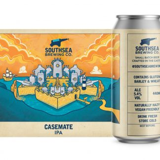 The Southsea Brewing Co Casemate 5.2% 440ml can