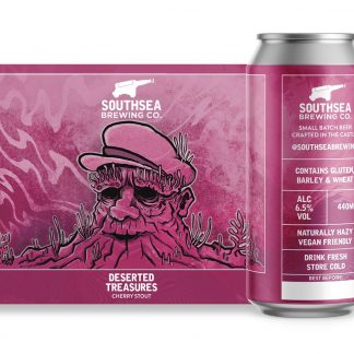 The Southsea Brewing Co Desserted Treasures 6.5% 440ml can