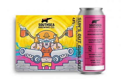 The Southsea Brewing Co Sun's Out Guns Out 4.8% 440ml can