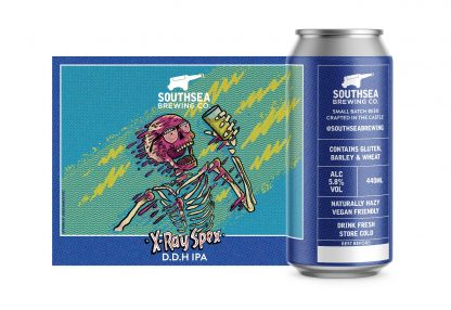 The Southsea Brewing Co X-Ray Spex 5.8% 440ml can
