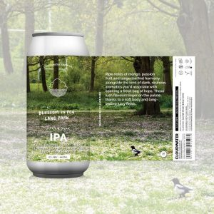 Cloudwater Blossom In Fog Lane Park 6.0% 440ml Can